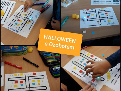 Halloween s Ozobotem