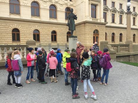 Plzeňské podzemí zkoumala 3. B