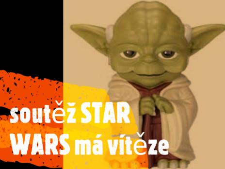 soutěž STAR WARS má vítěze
