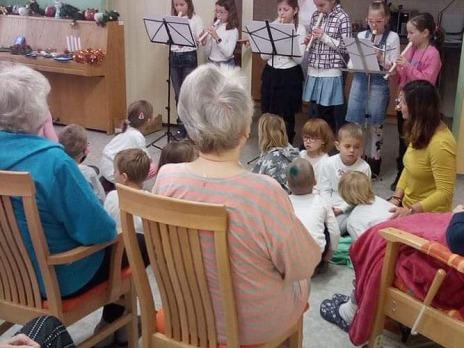 Vánoční flétničková vystoupení