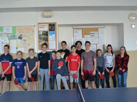 Vánoční kolo 3. ročníku turnaje ve stolním tenise – PINČES CAP 26. ZŠ Plzeň – Růžovka