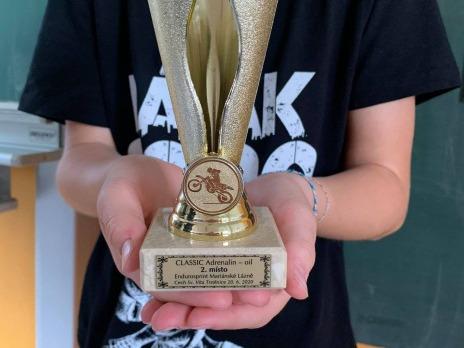 2. místo v Endurosprintu Mariánské Lázně
