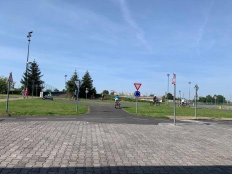 4.B na dopravním hřišti