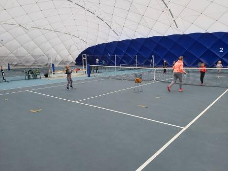 Vánoční přání z tenisového klubu