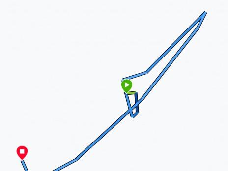 GPS malování - kreativní výtvory :-)