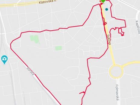 Dobrovolná výzva do konce března - malování pohybem (GPS obrázky)