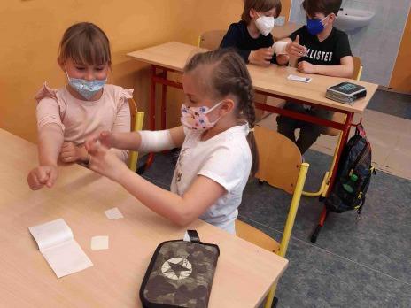 Projektový den 2. A - První pomoc