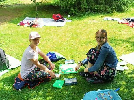 Třídní den 6. B v Luftově zahradě