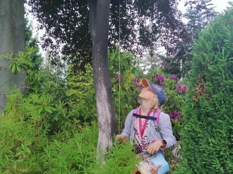 2. B navštívila Meditační zahradu