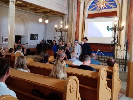 při prezentaci ve Staré synagoze