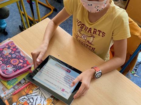 Využití iPadů ve výuce 4. C