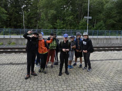 Špičák a Čertovo jezero se 4. C