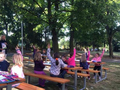 Nové zahradní prvky v Liticích