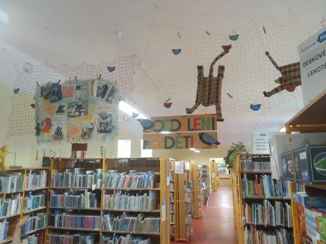 1. oddělení ŠD v knihovně