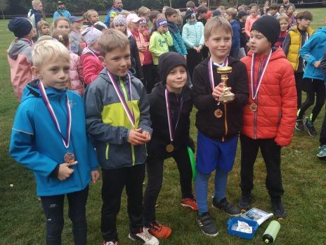 Krásné úspěchy našich závodníků v přespolním běhu družstev