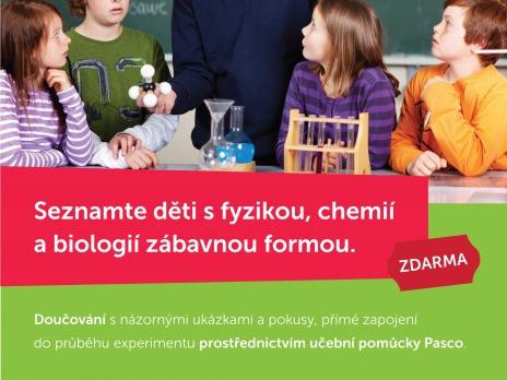 V DDD doučování dětí za pomoci názorných experimentů