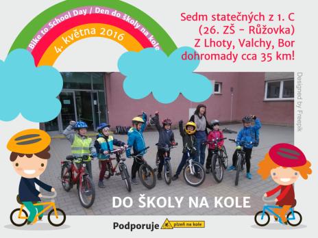Na kole do školy
