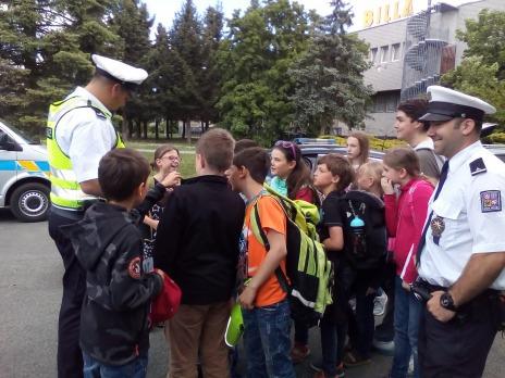Exkurze u Policie