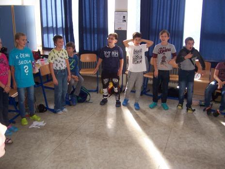 6.B - první třídní den