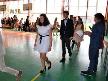 Slavnostní vyřazení deváťáků - 27. 6. 2019